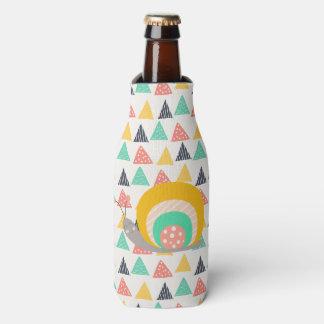 三角形の幸せなかたつむり ボトルクーラー