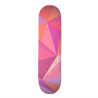 三角形の抽象芸術 スケートボード
