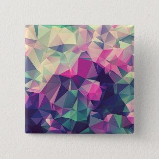 三角形の正方形ボタン 缶バッジ