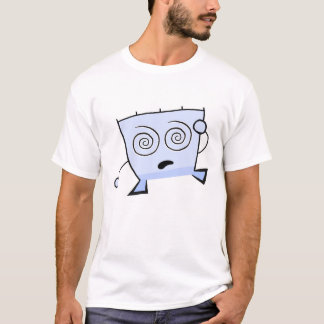 三角形の男の眩暈がするようなワイシャツ Tシャツ
