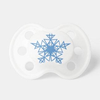 三角形の雪片 おしゃぶり