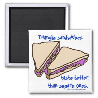 三角形サンドイッチ マグネット