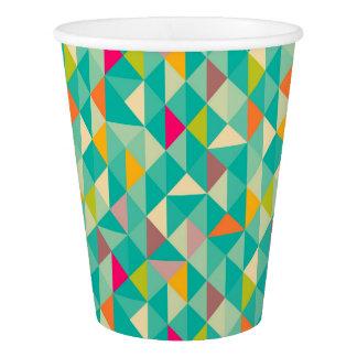 三角形パターン 紙コップ