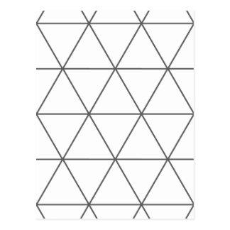 三角形01の規則 ポストカード
