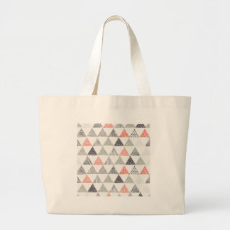 三角形 ラージトートバッグ