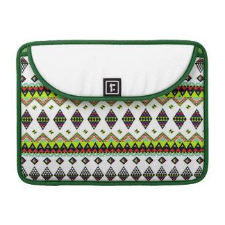 三角形: 緑 MacBook PROスリーブ