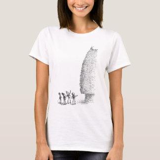 三角波およびブラウニーのヤギ Tシャツ