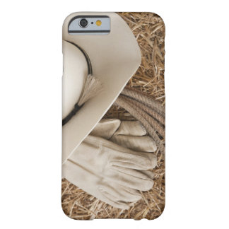 三角波のカーボーイ・ハット手袋そしてロープ BARELY THERE iPhone 6 ケース