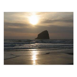 三角波の石の夕べ ポストカード