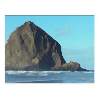 三角波の石 ポストカード