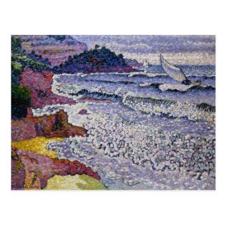 三角波の立つ海1902-3年 ポストカード