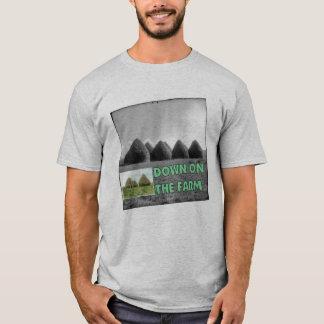三角波の農場 Tシャツ