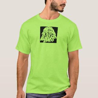 三角波の黒いロゴ Tシャツ