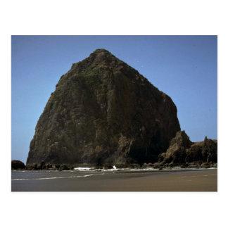 """三角波""""、オレゴンの海岸の造岩 ポストカード"""