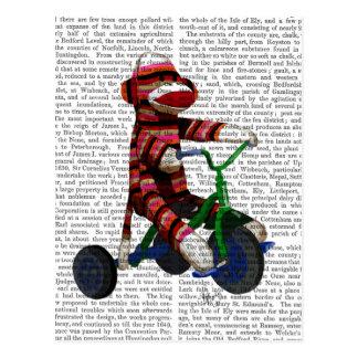 三輪車のソックス猿 ポストカード