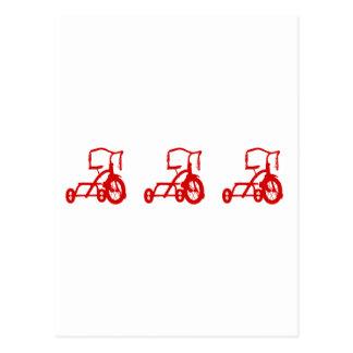 三輪車 ポストカード