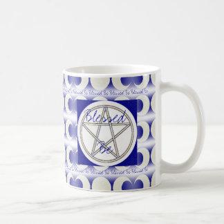 三重の月の異教徒は星形五角形スタイルの異教徒の衰退します コーヒーマグカップ