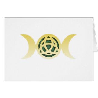 三重の月Triquetra カード