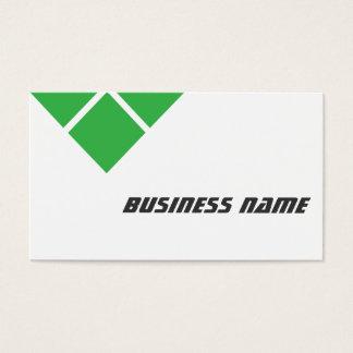 三重の緑の石油エンジニアの名刺 名刺