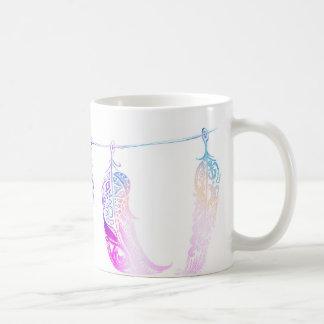 三重の羽 コーヒーマグカップ
