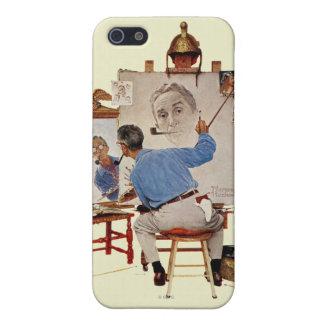 三重の自画像 iPhone 5 COVER