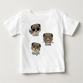 三重のmeerkatの表現 ベビーTシャツ
