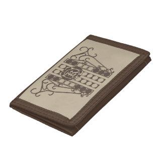三重ナイロン財布のIRONWORK SCROLLWORK 2