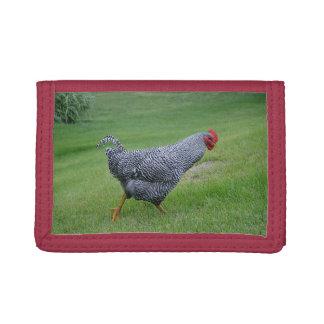 三重ナイロン鶏の財布