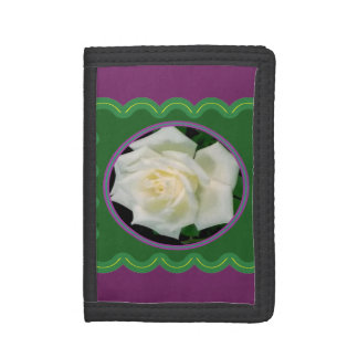 三重財布はナイロンデニムまたは革ギフトを選びます ナイロン三つ折りウォレット