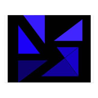 三3青CricketDiane抽象的なPopArt ポストカード