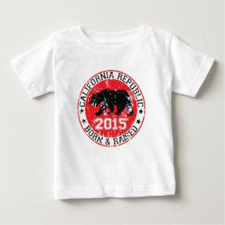 上がるカリフォルニア共和国の生まれる2015年 ベビーTシャツ