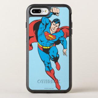上がるスーパーマンによって残される握りこぶし オッターボックスシンメトリーiPhone 8 PLUS/7 PLUSケース
