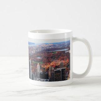 上でからの眺め: セントラル・パーク01の秋 コーヒーマグカップ