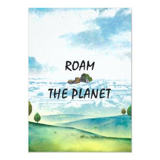 上によっては惑星が歩き回ります カード