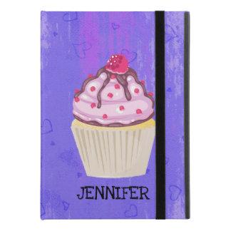 """上のカスタムのラズベリーが付いている甘いカップケーキ iPad PRO 9.7"""" ケース"""