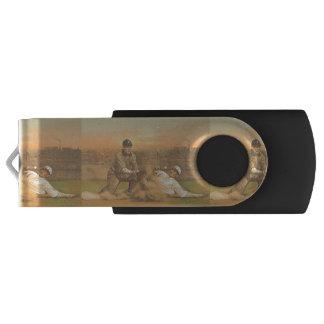 上のクラシックな野球 USBフラッシュドライブ