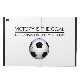 上のサッカーの勝利のスローガン POWIS iPad AIR 2 ケース