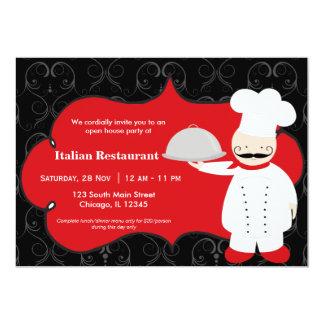 上のシェフのレストラン カード