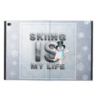 上のスキーは私の生命です POWIS iPad AIR 2 ケース