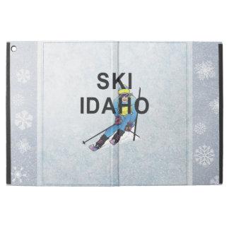 """上のスキーアイダホ iPad PRO 12.9"""" ケース"""