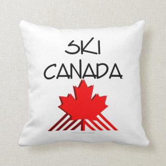 上のスキーカナダ クッション