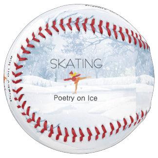 上のスケートで滑るの詩歌 ソフトボール