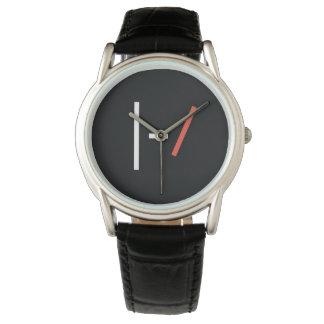 上のロゴ 腕時計