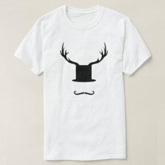 上の人のシルクハット Tシャツ