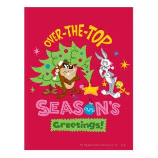上の季節の挨拶に ポストカード