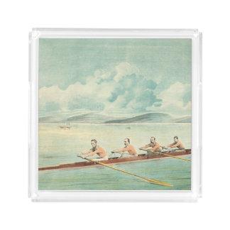 上の漕ぎ手 アクリルトレー