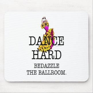 上の社交ダンスは眩まします マウスパッド