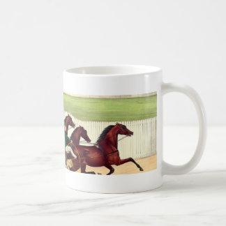 上の競馬は私の生命です コーヒーマグカップ