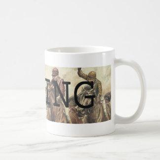 上の競馬 コーヒーマグカップ