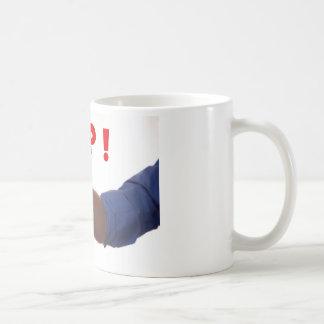 上の親指のイメージ コーヒーマグカップ